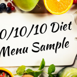 One Day Raw Vegan 80/10/10 Diet Menu Sample