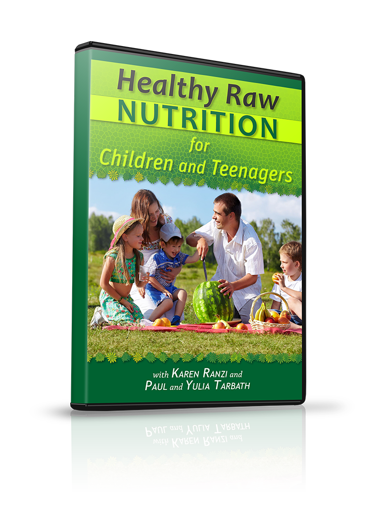Healthy Raw Nutrition for Children and Teenagers
