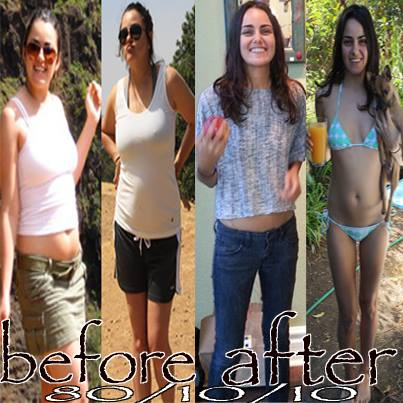 Raw Food Before & After Stories: Jesi Di Palo