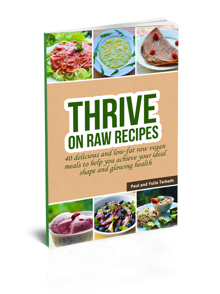 Thrive on raw recipes rawsomehealthy thrive on raw recipes digital book forumfinder Gallery