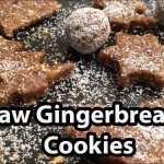 Vegan Gingerbread Cookies Recipe – Raw Food, Gluten Free