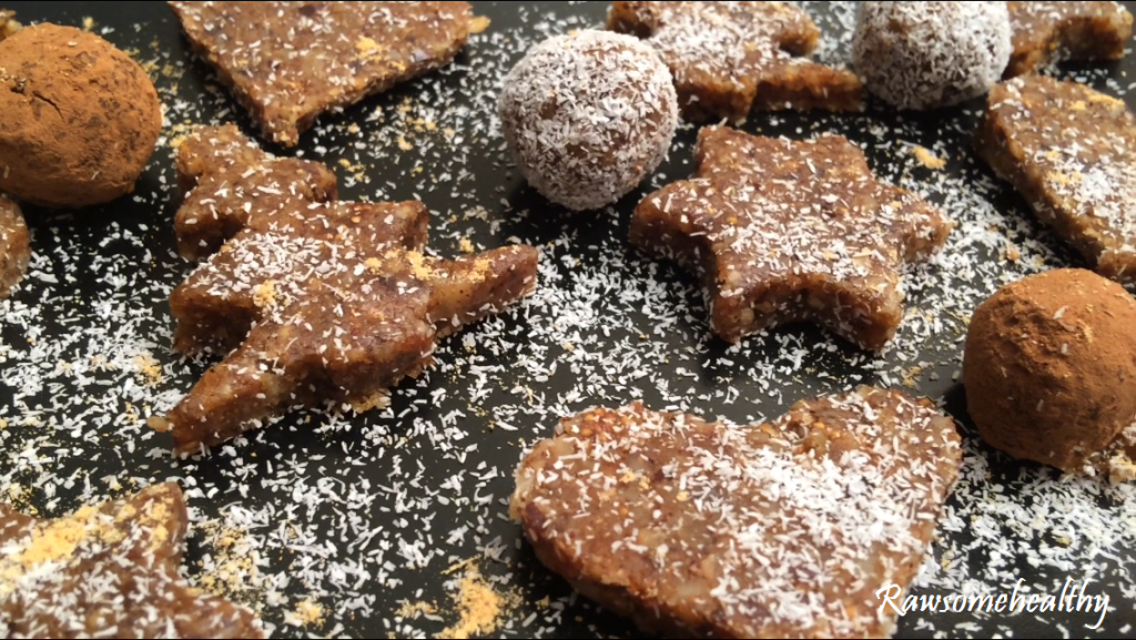 Raw Gingerbread Cookie Recipe
