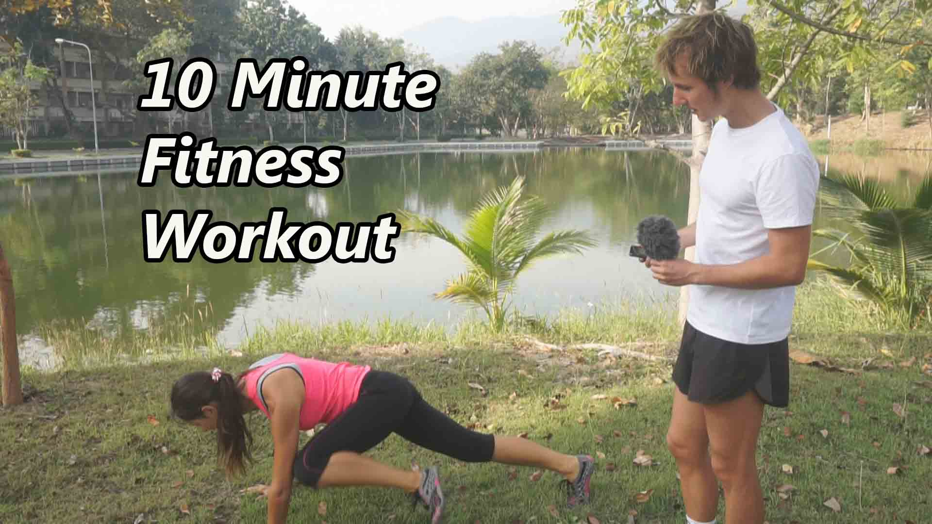 10-Minute Home Full Body Workout To Burn Calories Fast