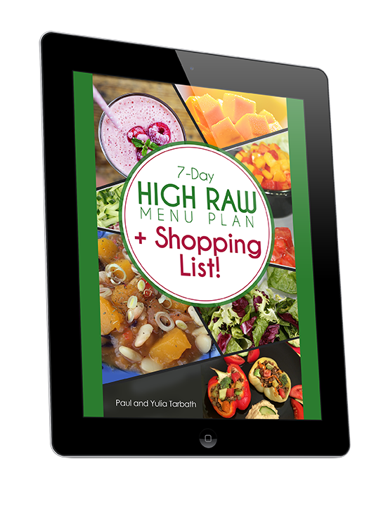 7-Day HIGH Raw Meal Plan With A Shopping List