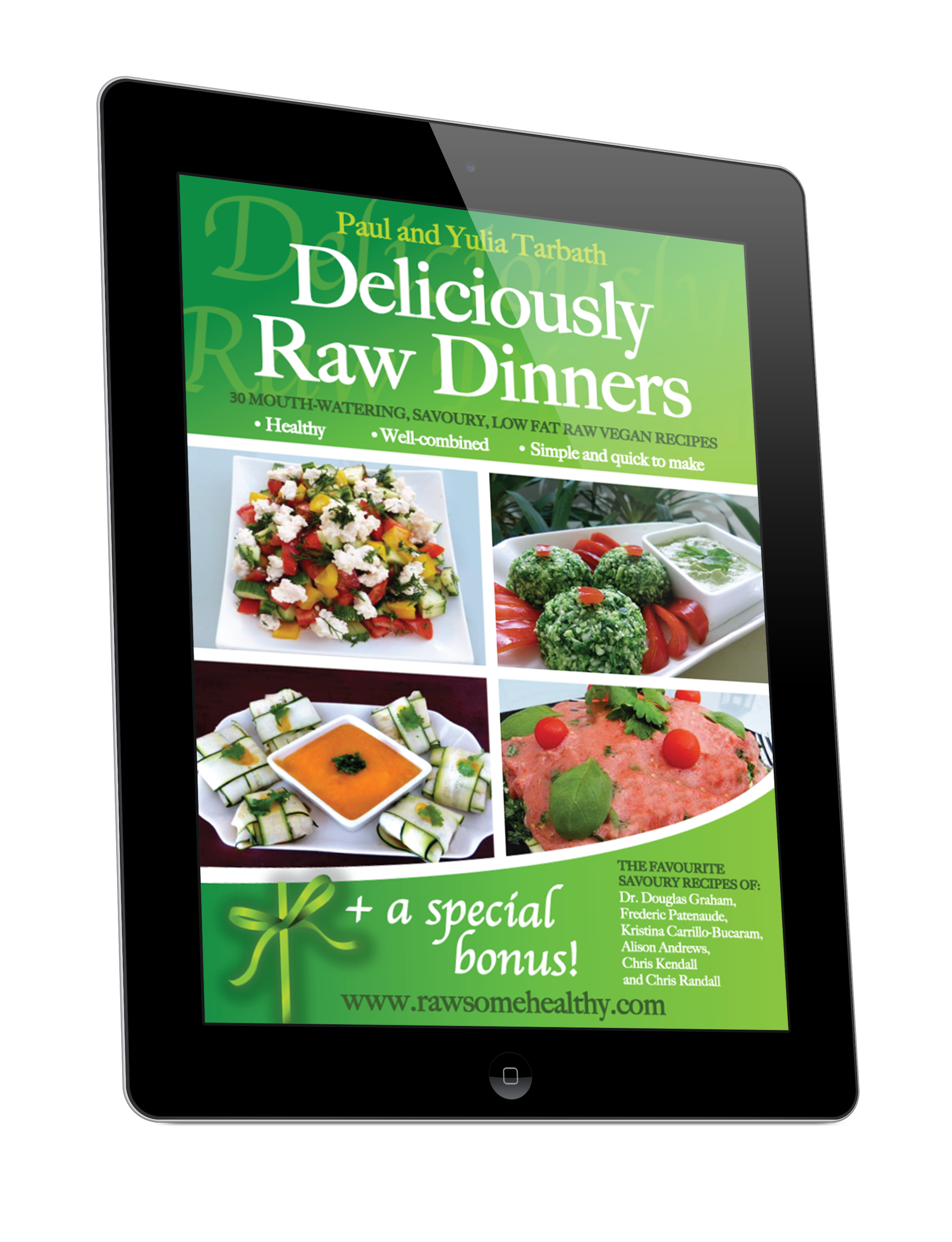 Raw food dinner recipes rawsomehealthy 36 raw food dinner recipes for all tastes and occasions forumfinder Images