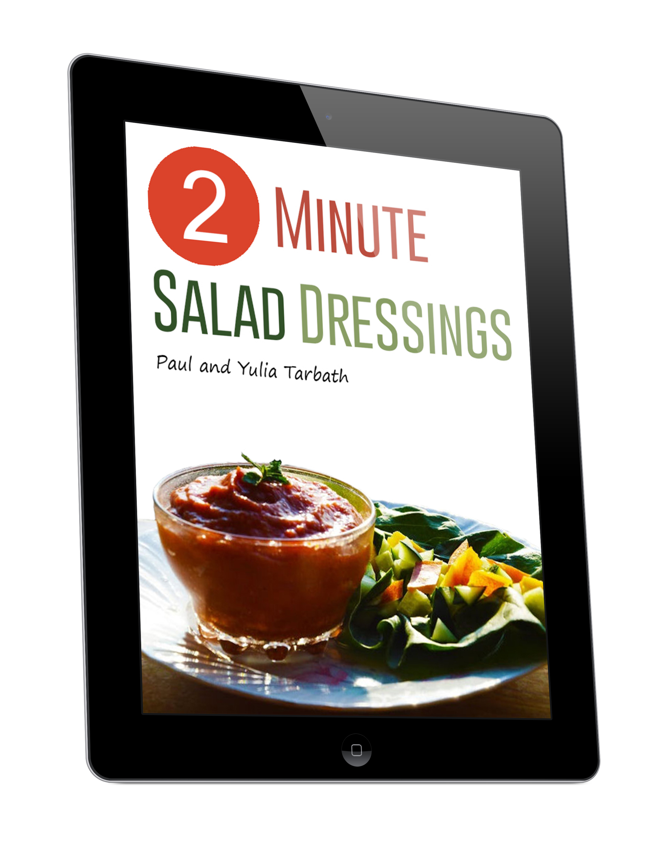 Two Minute Salad Dressings Ebook