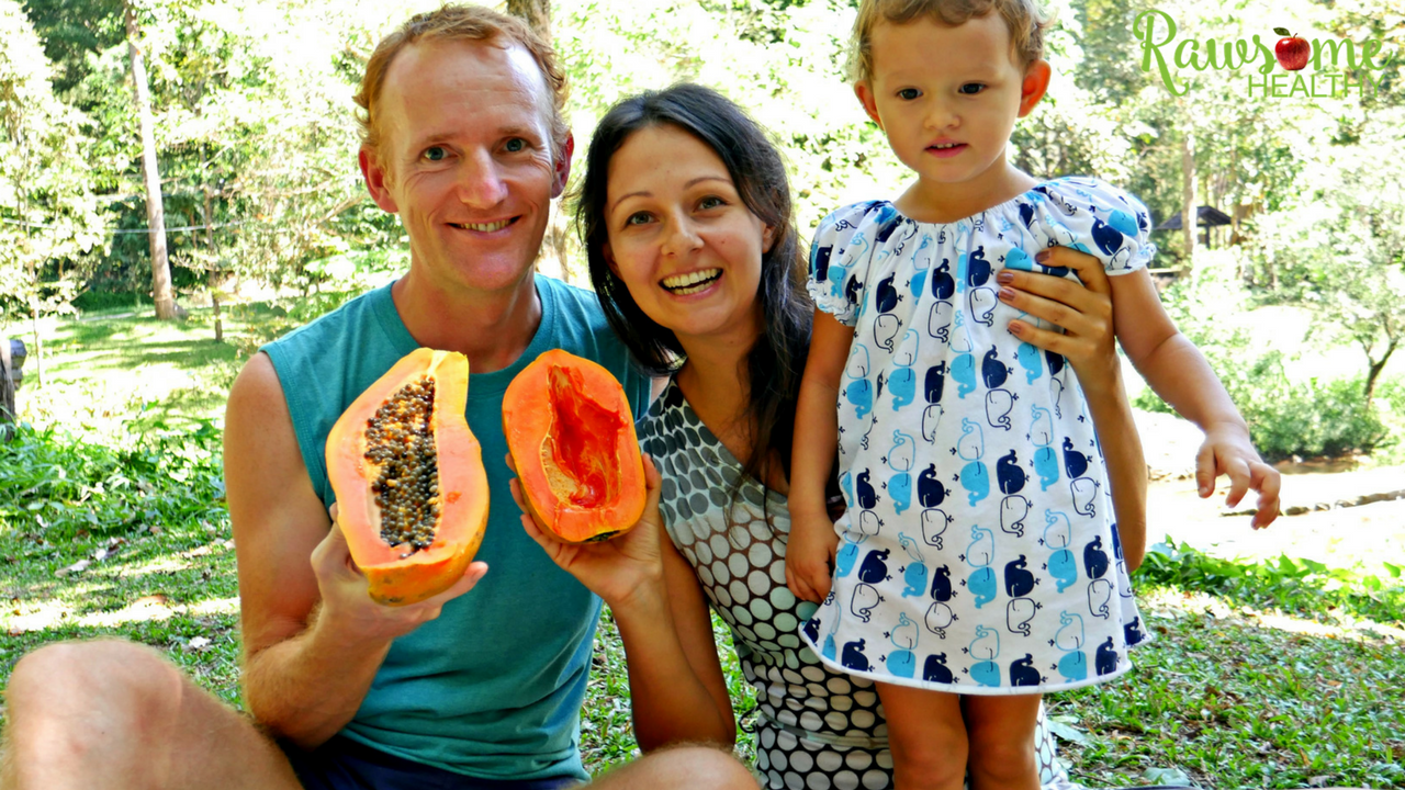 What our mostly raw vegan family eats
