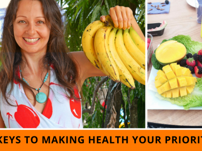3 Keys To Making Health Your Priority In The New Year