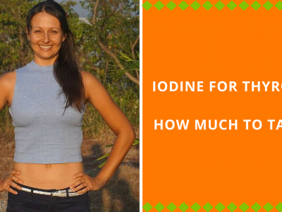 Iodine For Thyroid - How Much To Take