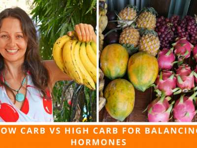 Low Carb Vs High Carb For Balancing Your Hormones